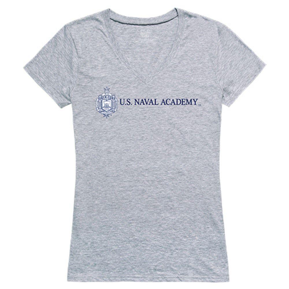 United States Naval Academy Midshipmen NCAA Women's Seal Tee T-Shirt