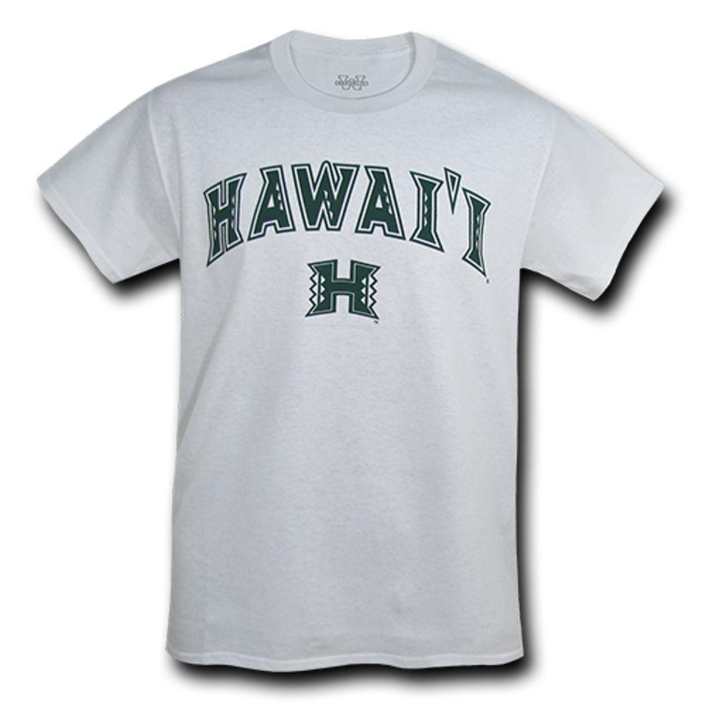 University of Hawaii Rainbow Warriors NCAA Freshman Tee T-Shirt White