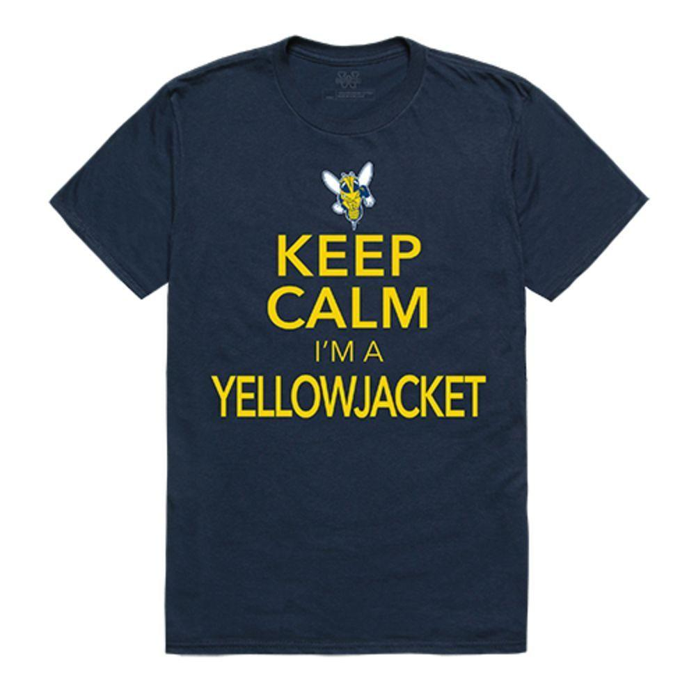 University of Rochester Yellowjackets NCAA Keep Calm Tee T-Shirt