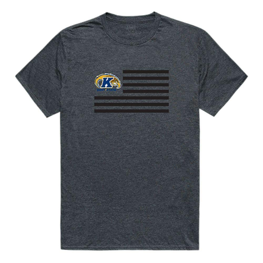 Kent State University The Golden Eagles NCAA Flag Tee T-Shirt