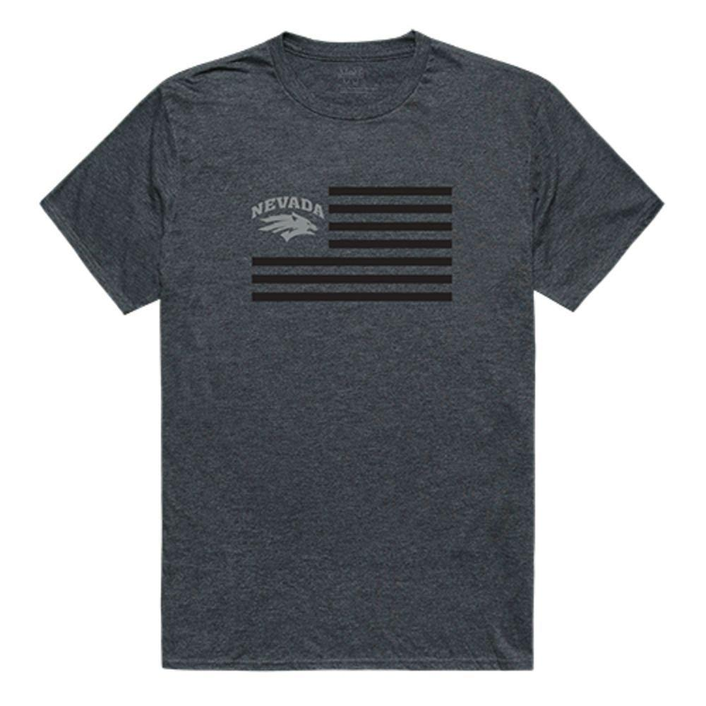 University of Nevada Wolf Pack NCAA Flag Tee T-Shirt