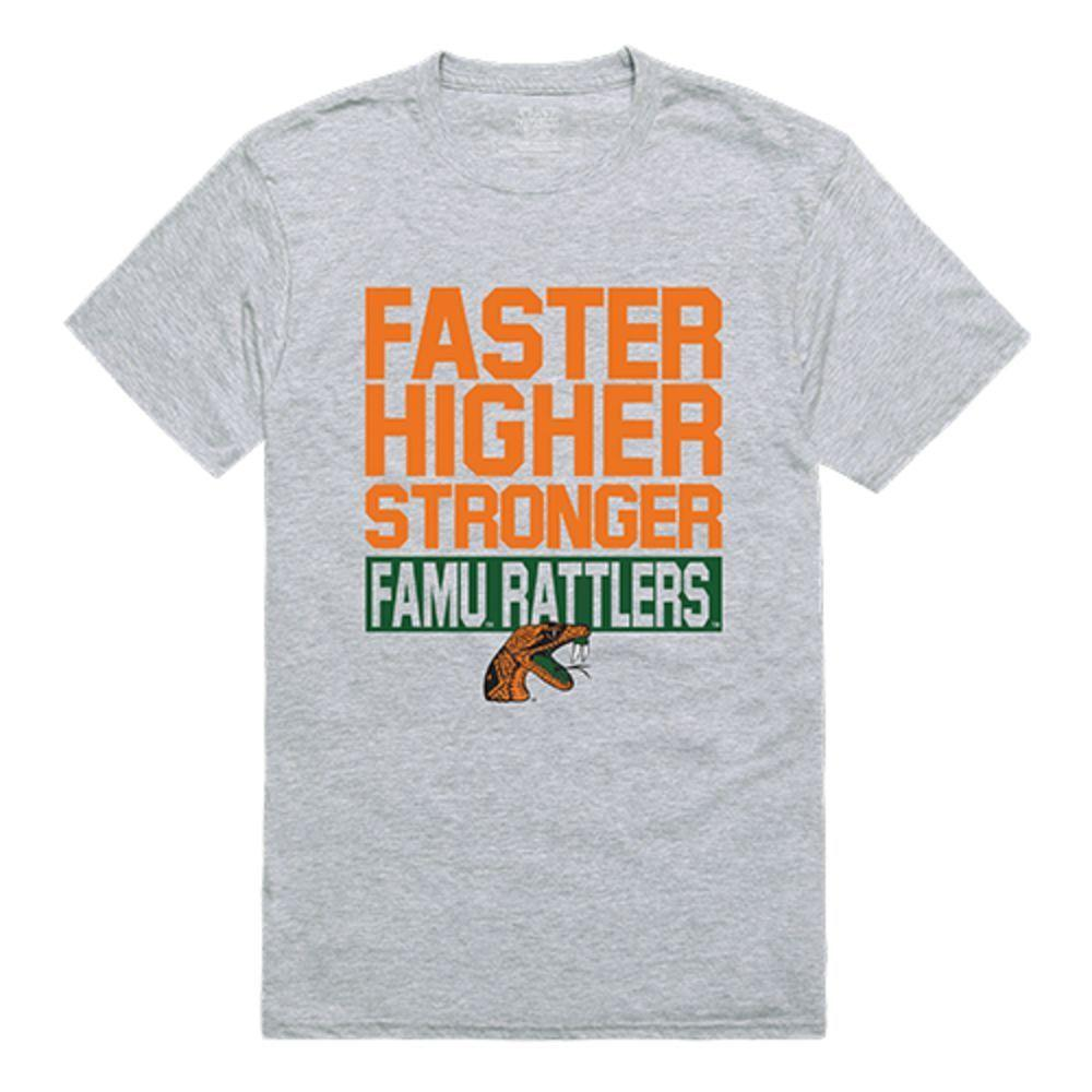 Florida A&M University Rattlers NCAA Workout Tee T-Shirt