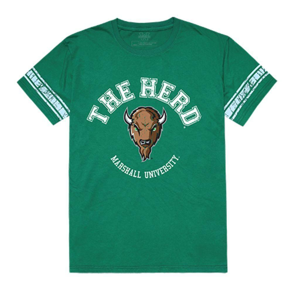 Marshall University Thundering Herd NCAA Men's Football Tee T-Shirt Kelly