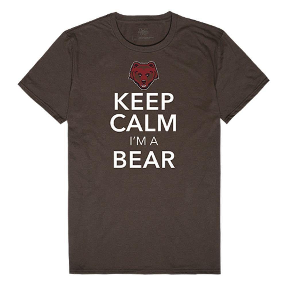 Brown University Bears NCAA Keep Calm Tee T-Shirt Brown