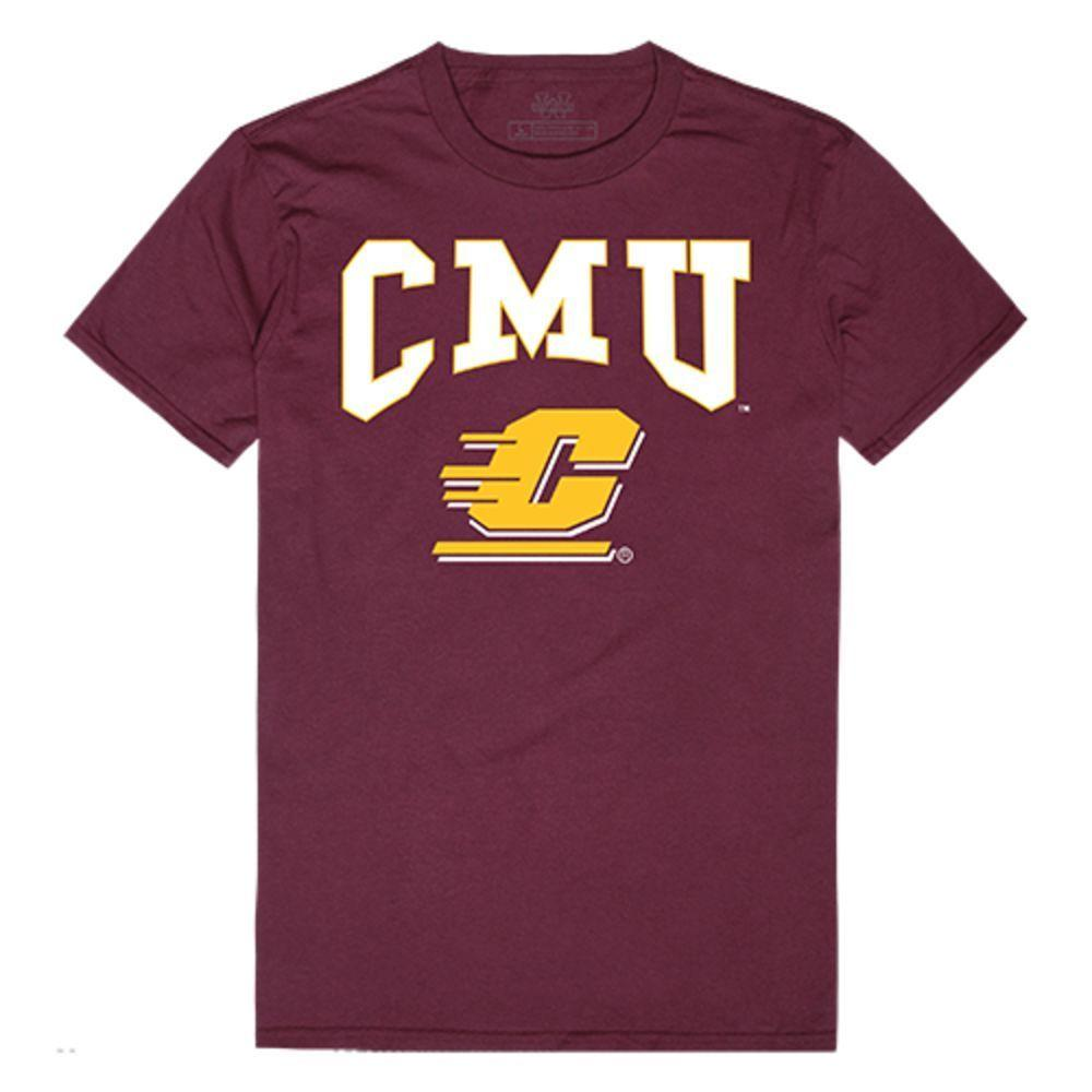 CMU Central Michigan University Chippewas NCAA Athletic Tee T-Shirt