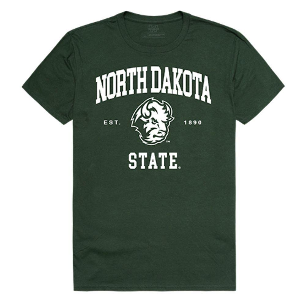 North Dakota State University Bison Thundering Herd NCAA Seal Tee T-Shirt