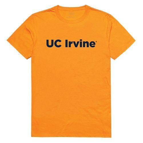 University of California Irvine Anteaters NCAA Freshman Tee T-Shirt Gold