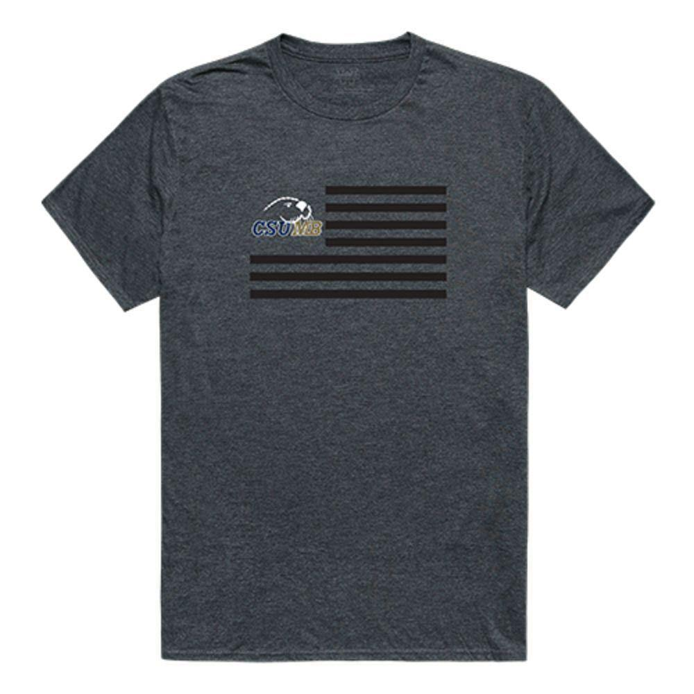 Cal State University Monterey Bay Otters NCAA Flag Tee T-Shirt