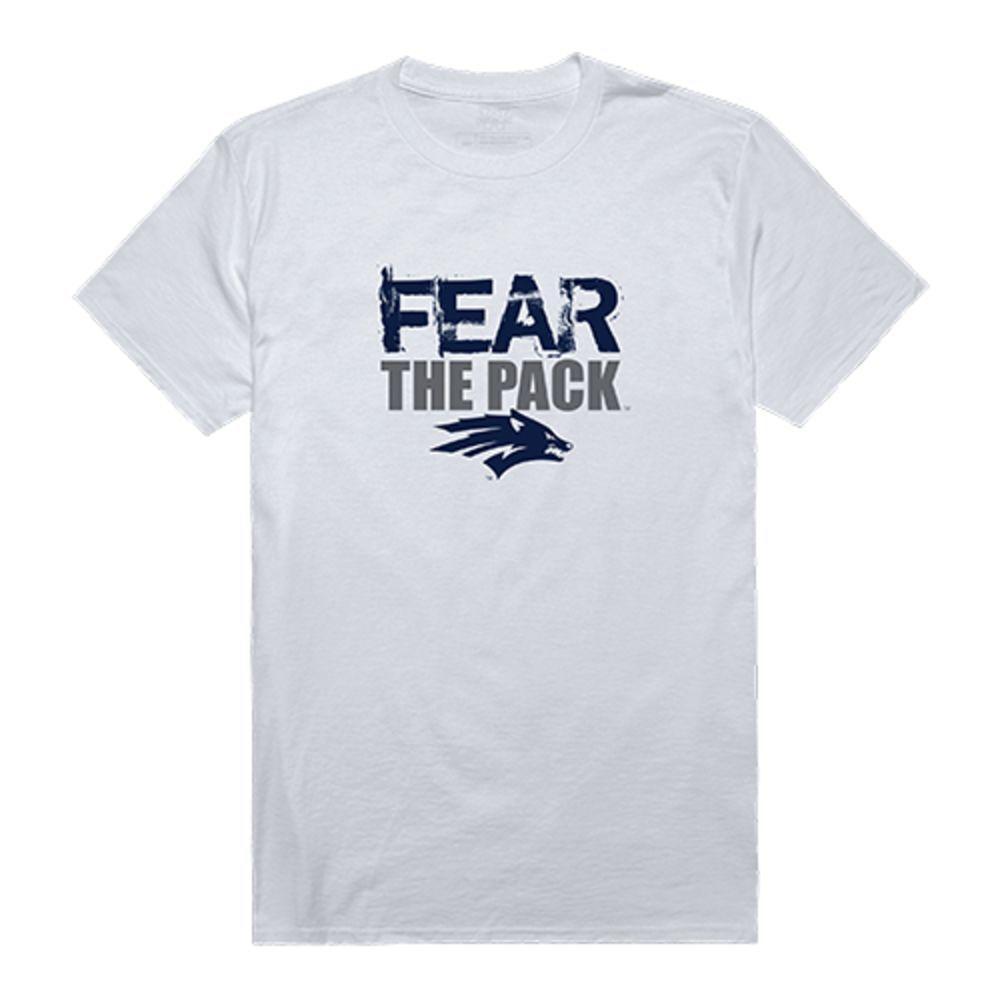 University of Nevada Wolf Pack NCAA Fear Tee T-Shirt White
