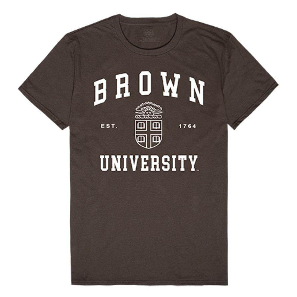 Brown University Bears NCAA Seal Tee T-Shirt Brown