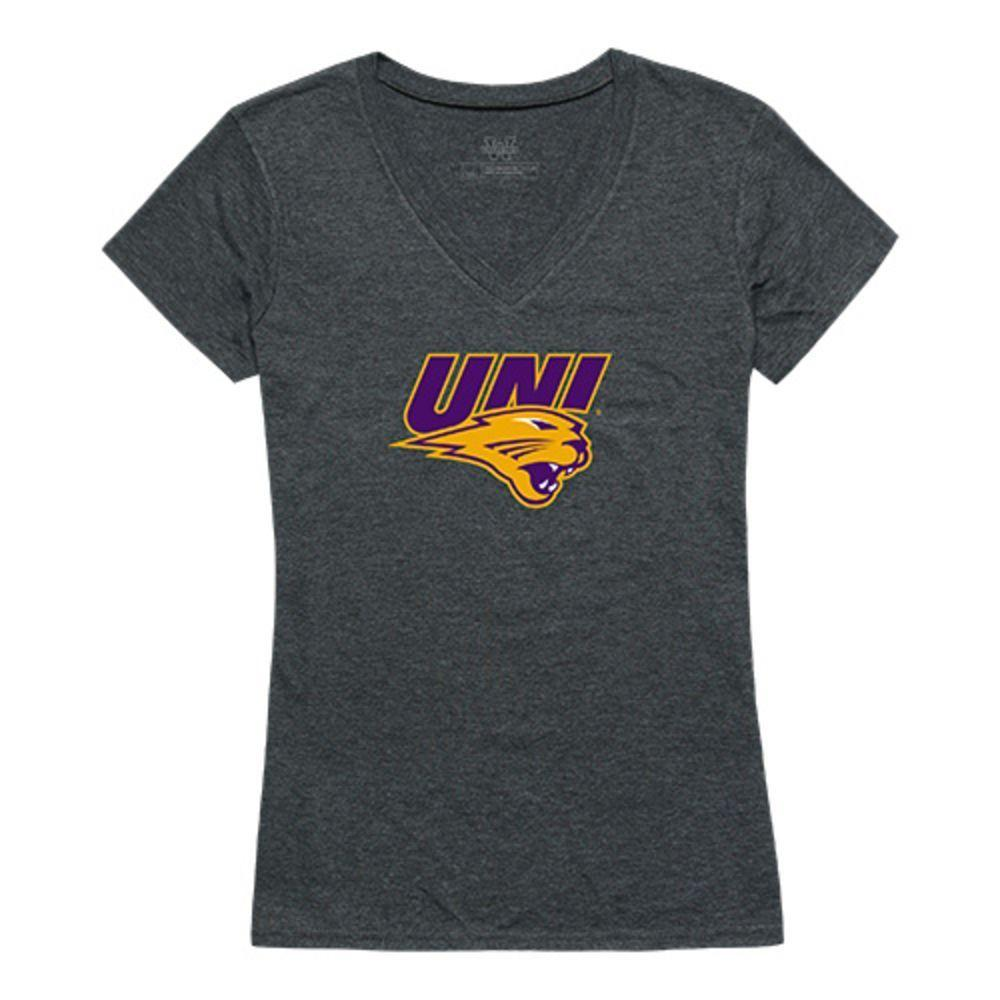 University of Northen Iowa Panthers NCAA Women's Cinder Tee T-Shirt