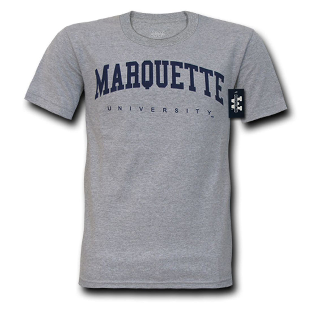 Marquette University Game Day T-Shirt Heather Grey