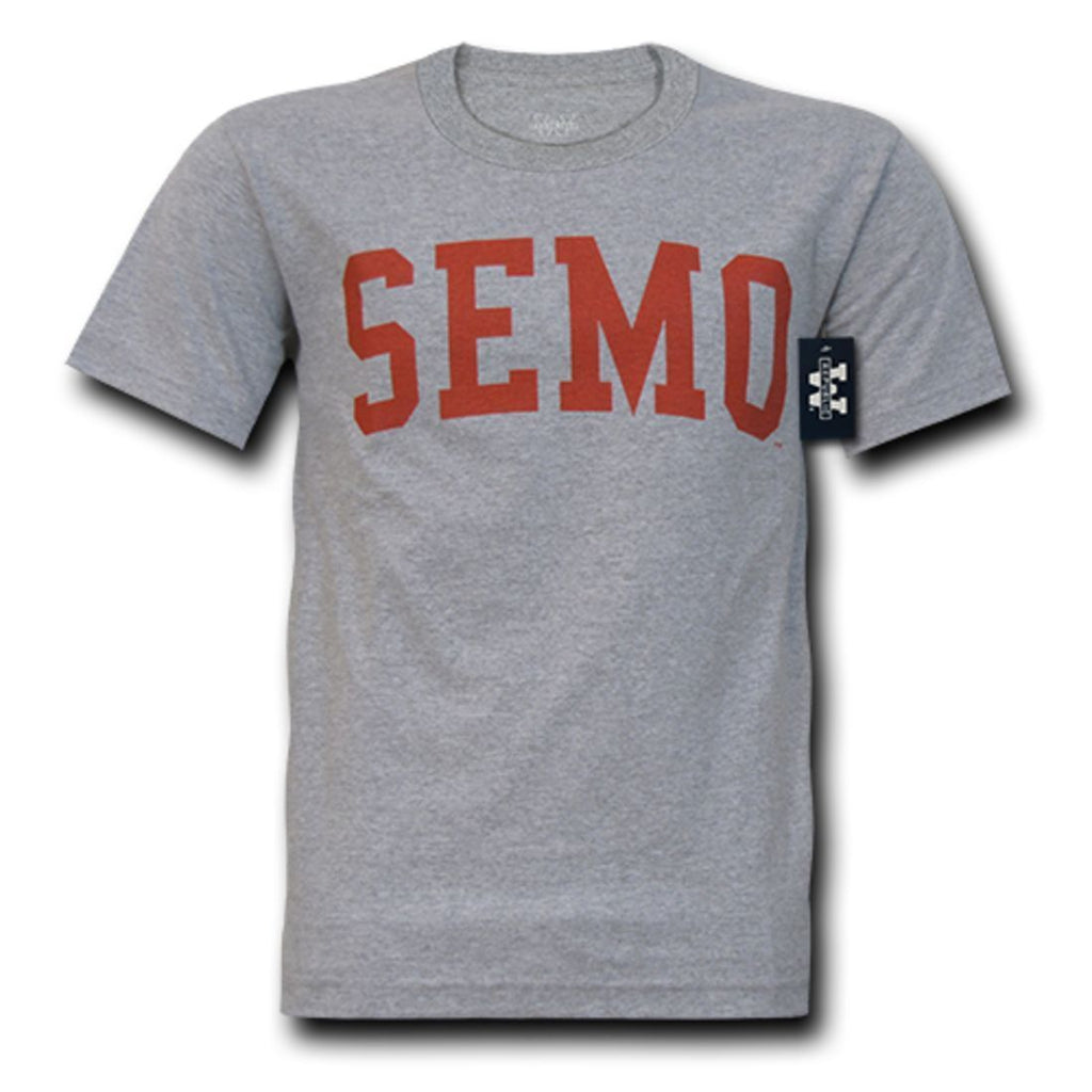 SEMO Southeast Missouri State University Game Day T-Shirt Heather Grey