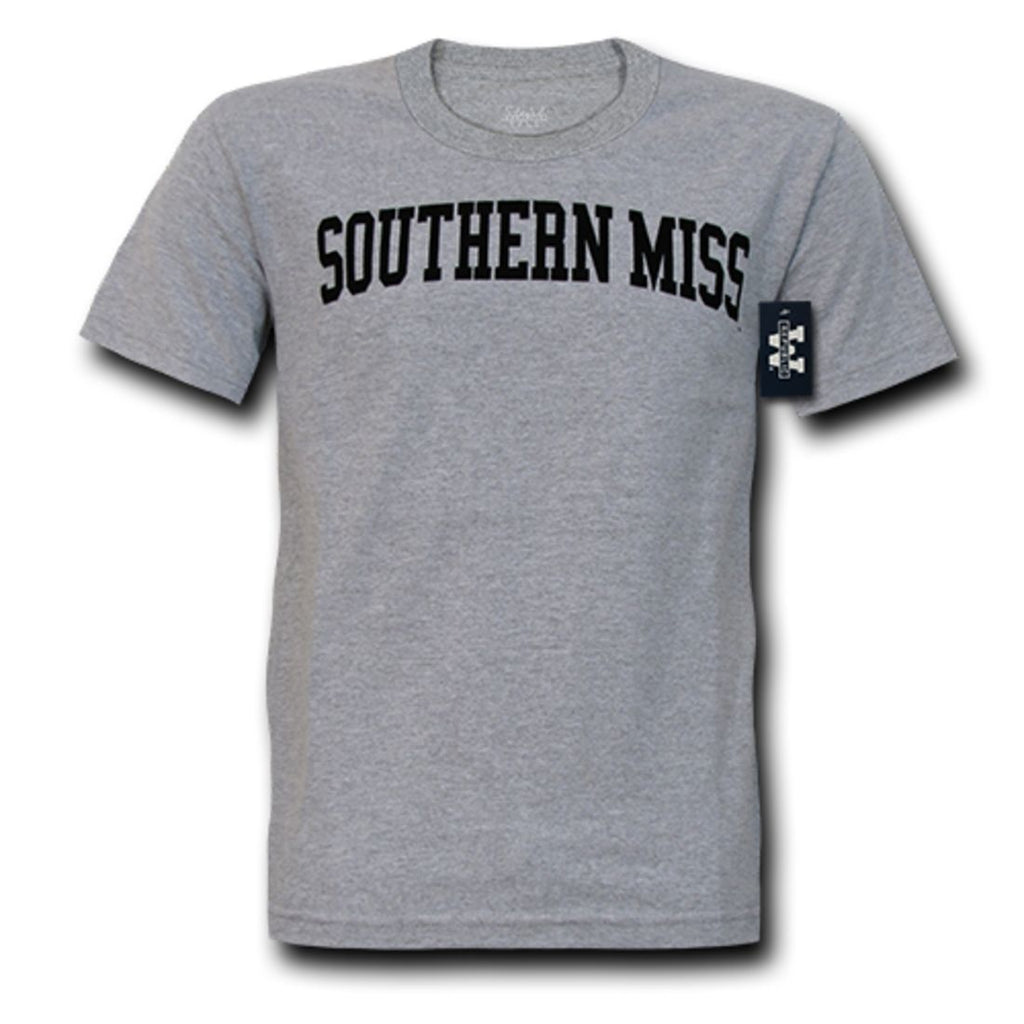 USM University of Southern Mississippi Game Day T-Shirt Heather Grey
