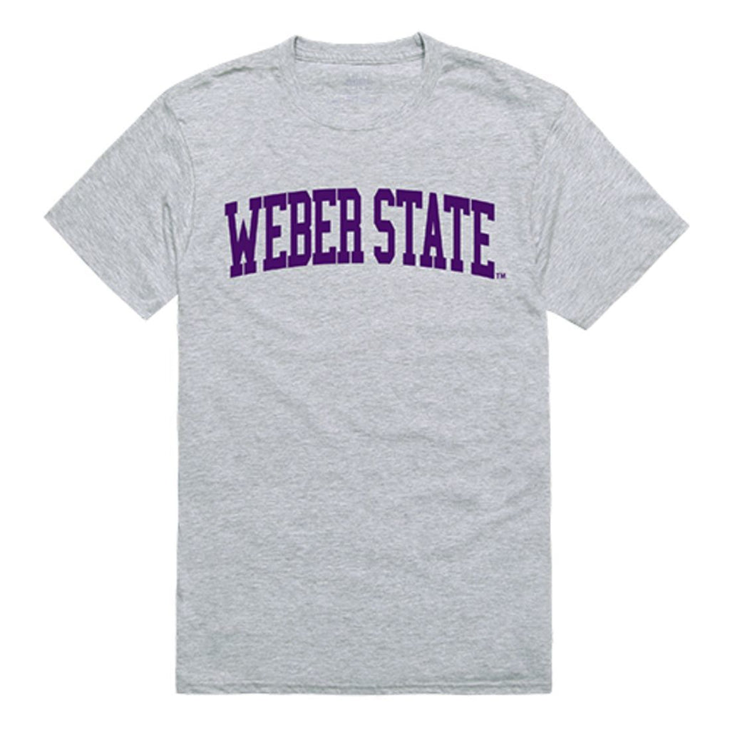 Weber State University Game Day T-Shirt Heather Grey