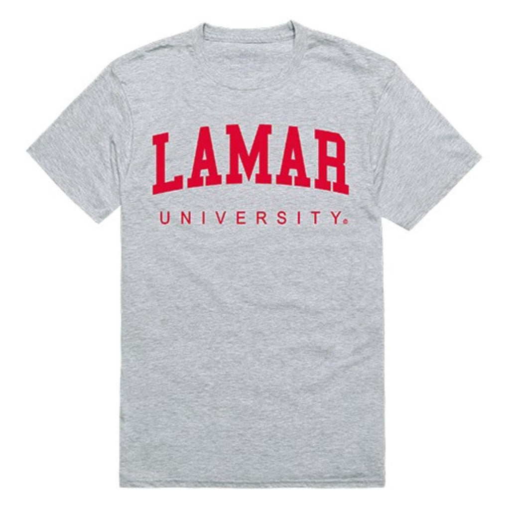 Lamar University Mens Game Day Tee T-Shirt Heather Grey