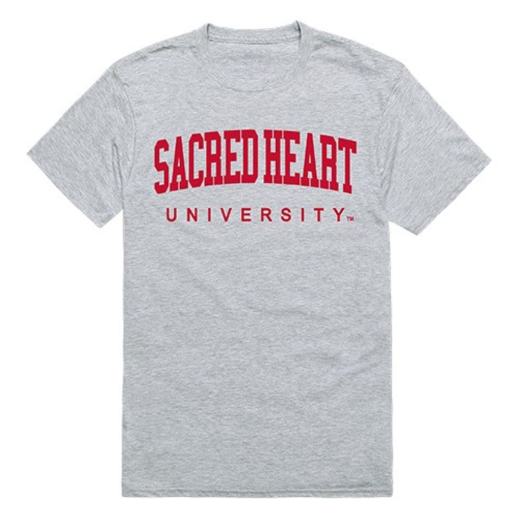 Sacred Heart University Mens Game Day Tee T-Shirt Heather Grey