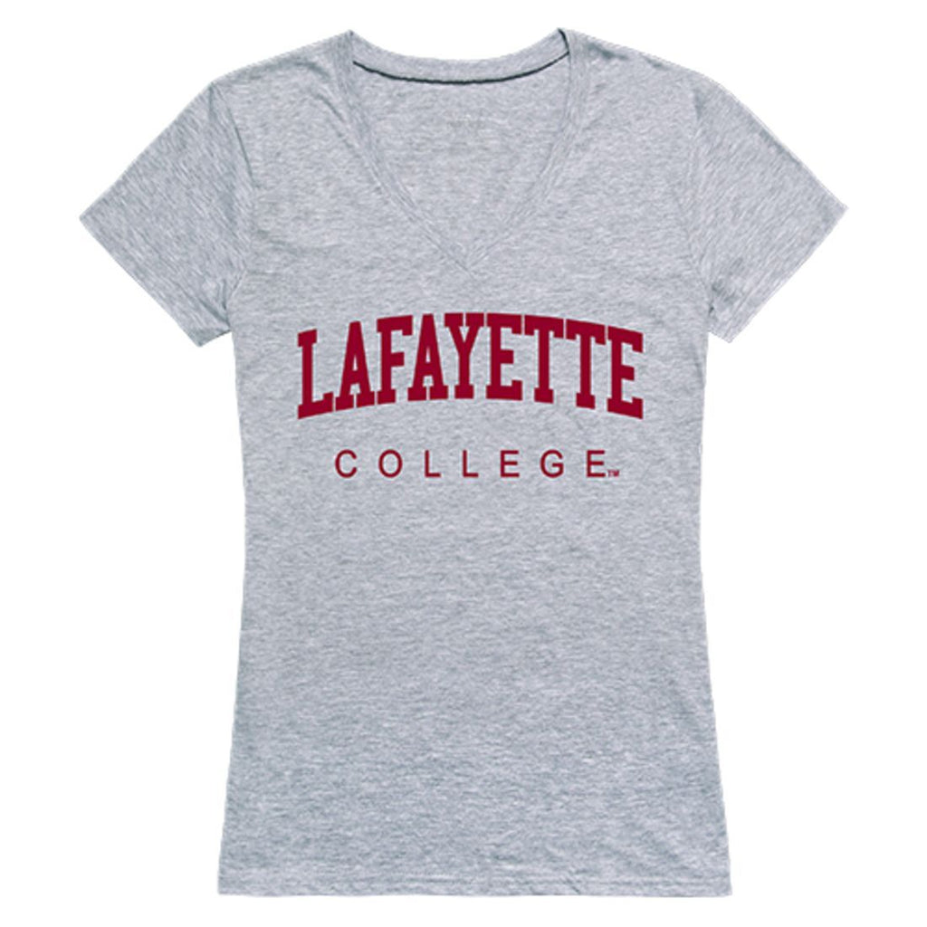 Lafayette College Game Day Womens T-Shirt Heather Grey