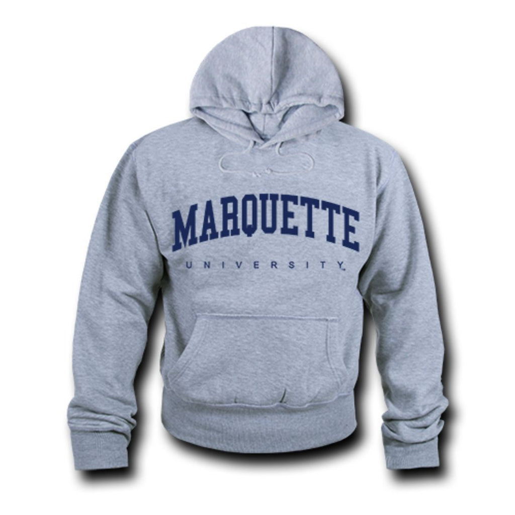 Marquette University Game Day Hoodie Sweatshirt Heather Grey