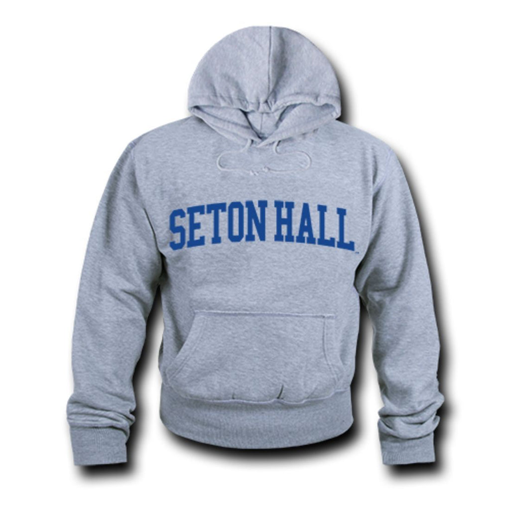 SHU Seton Hall University Game Day Hoodie Sweatshirt Heather Grey