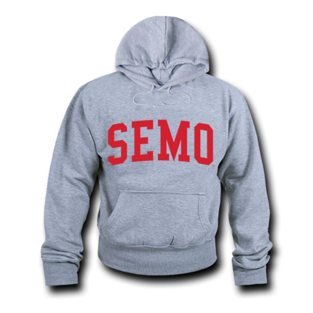 SEMO Southeast Missouri State University Game Day Hoodie Sweatshirt Heather Grey