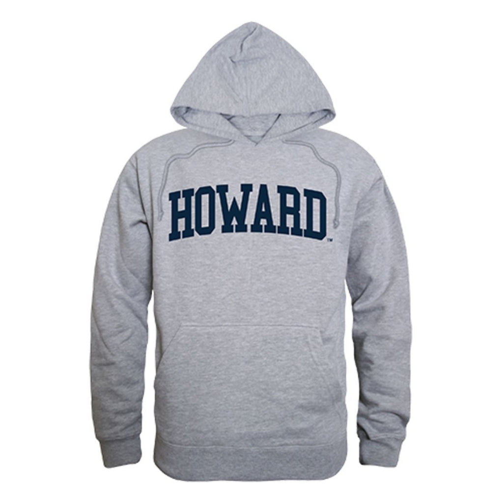 Howard University Bison Game Day Hoodie Sweatshirt Heather Grey
