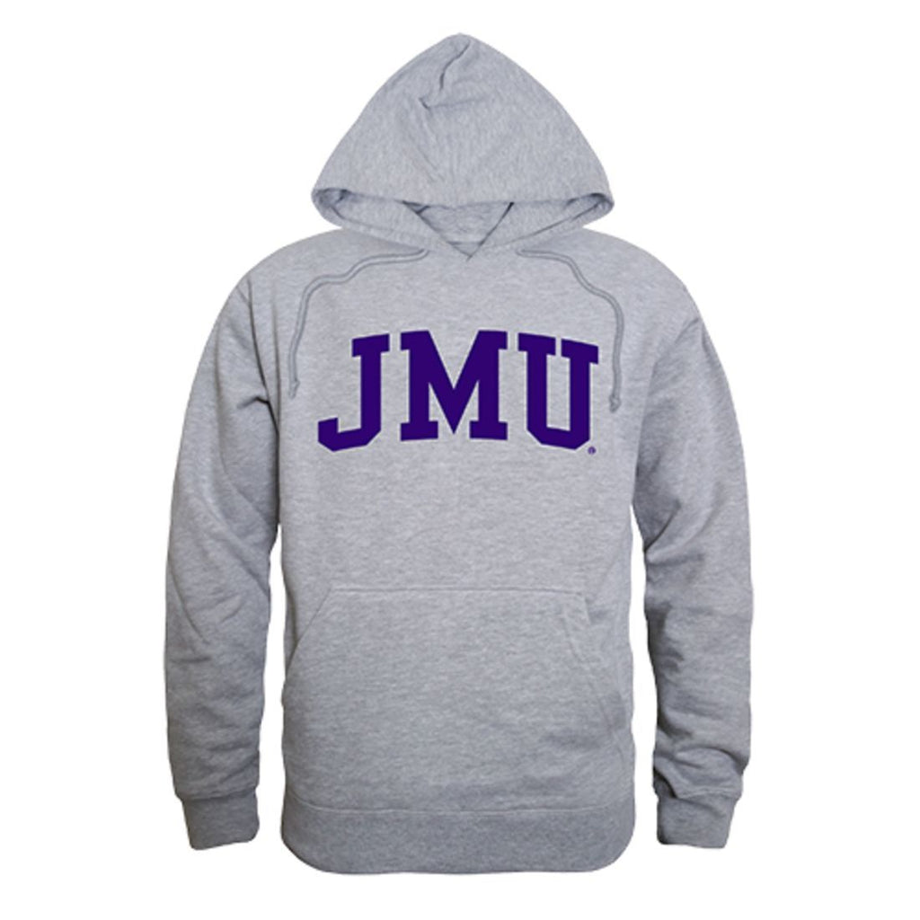 James Madison University Foundation Dukes Game Day Hoodie Sweatshirt Heather Grey