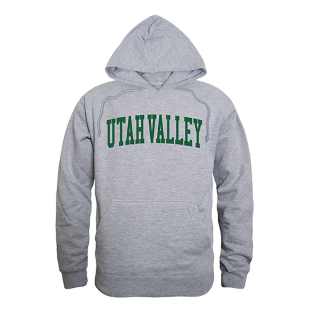 Utah Valley University Wolverines Game Day Hoodie Sweatshirt Heather Grey