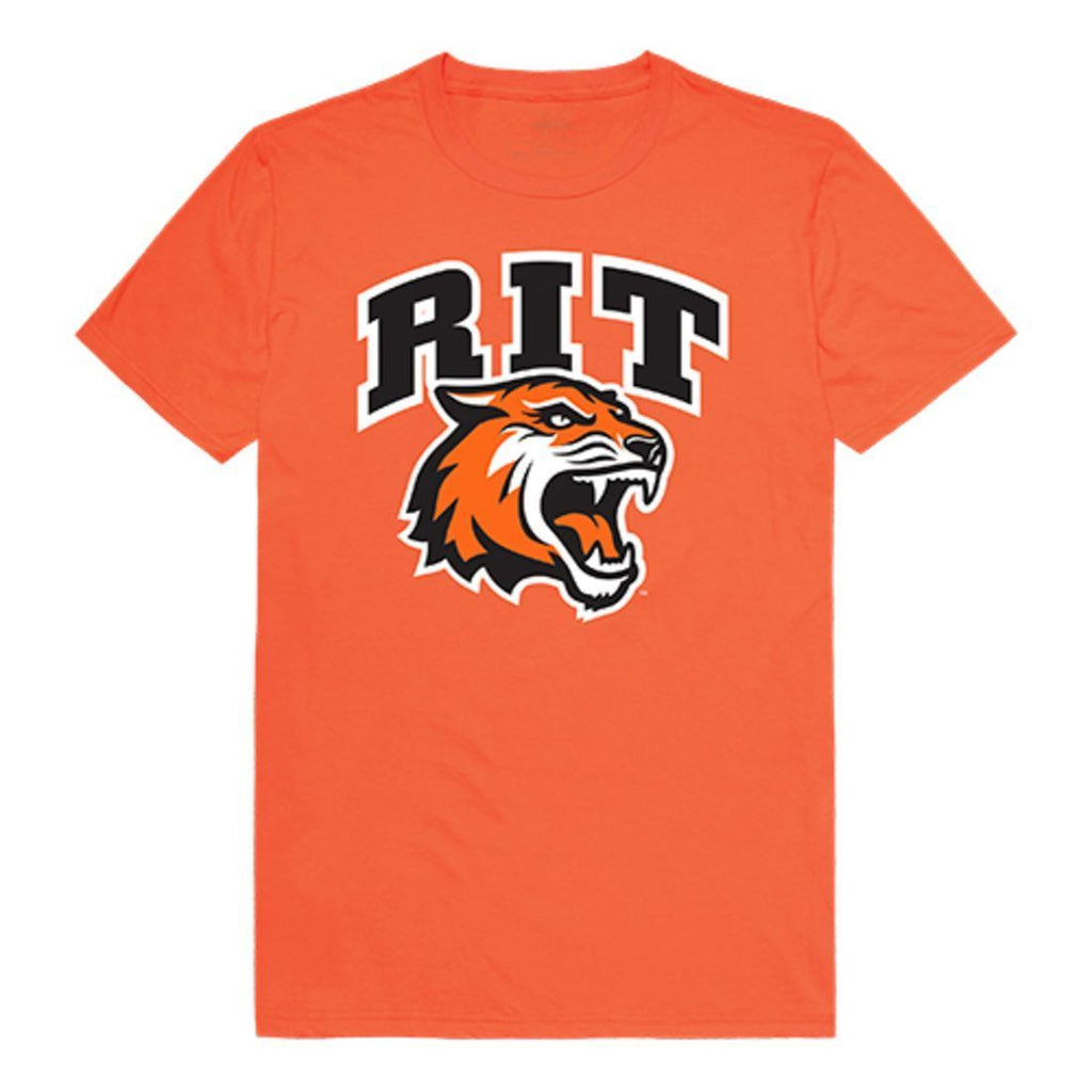RIT Rochester Institute of Technology Tigers Freshman Tee T-Shirt Orange