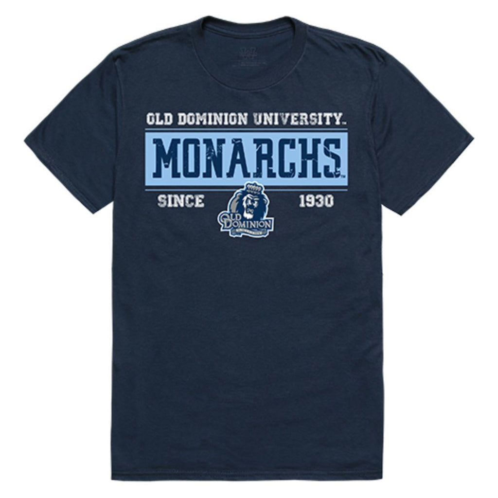 ODU Old Dominion University Monarchs NCAA Established Tees T-Shirt Navy