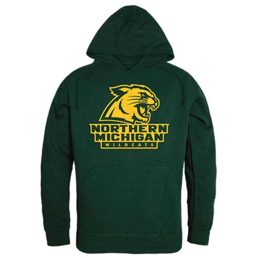 NMU Northern Michigan University Freshman Pullover Sweatshirt Hoodie Forest Green