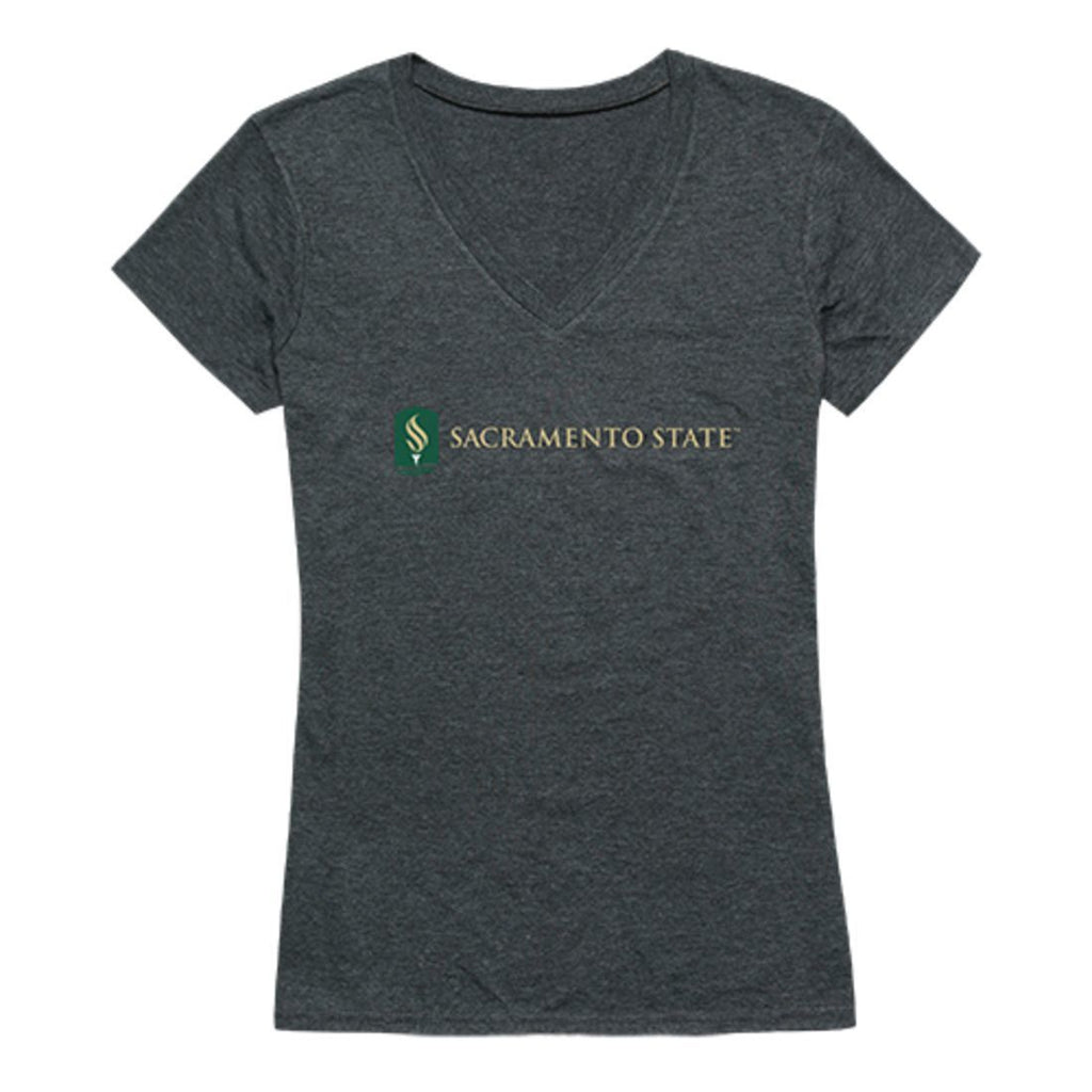 CSUS Sacramento State Hornets Womens Institutional Tee T-Shirt Heather Charcoal