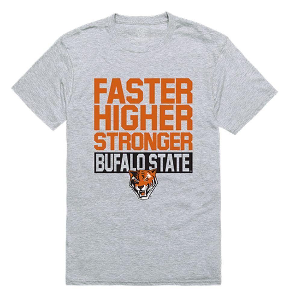 Buffalo State College Bengals NCAA Workout Tee T-Shirt