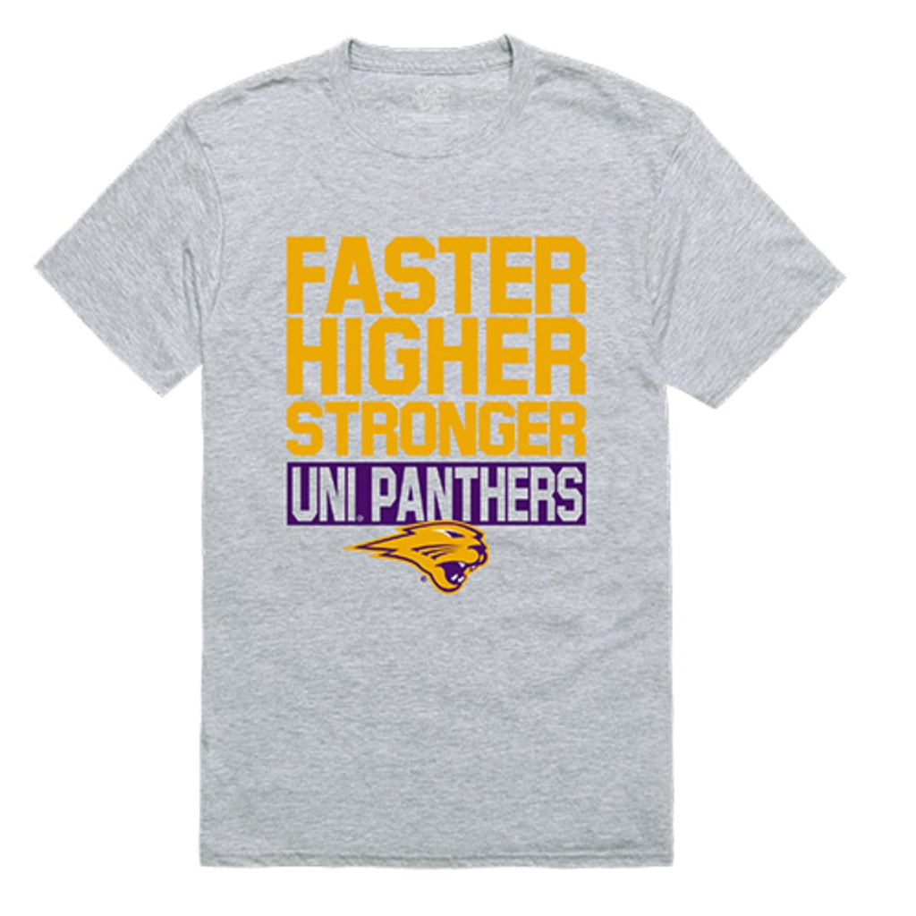 UNI University of Northern Iowa Panthers Workout T-Shirt Heather Grey