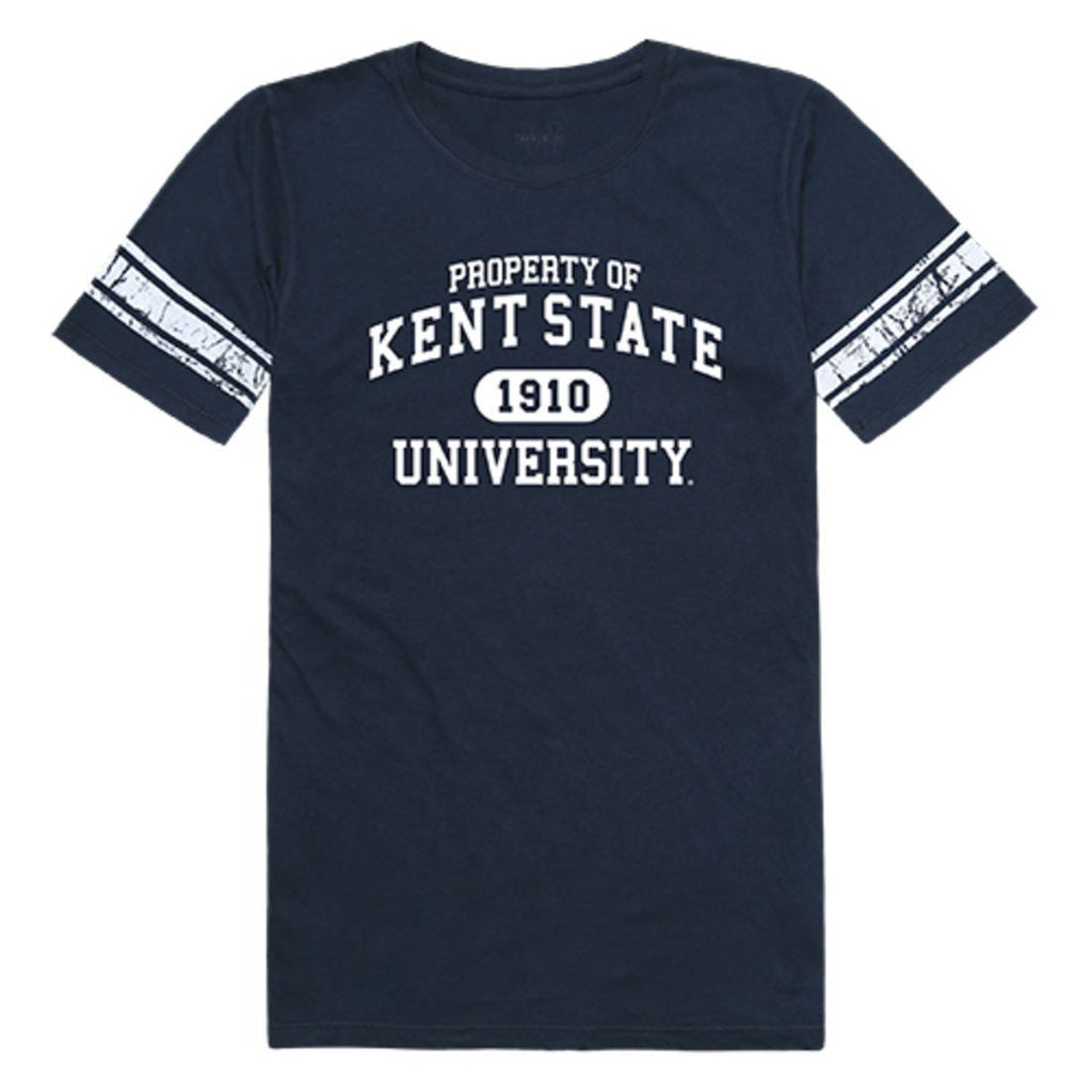 Kent State University The Golden Eagles Womens Property Tee T-Shirt Navy