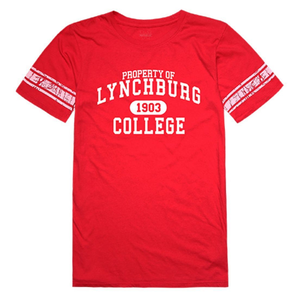 Lynchburg College Hornets Womens Property Tee T-Shirt Red