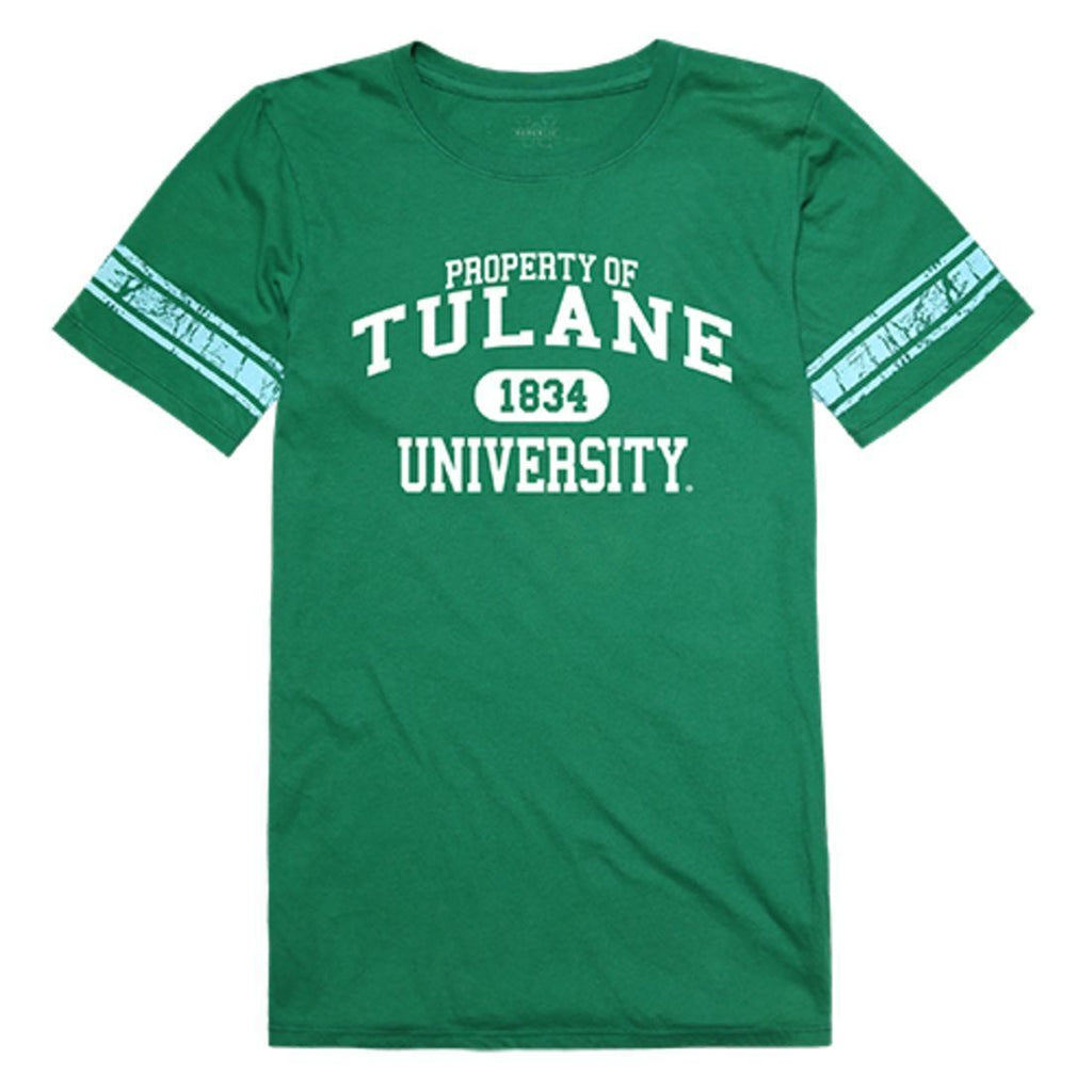 Tulane University Green Wave Womens Property Tee T-Shirt Kelly