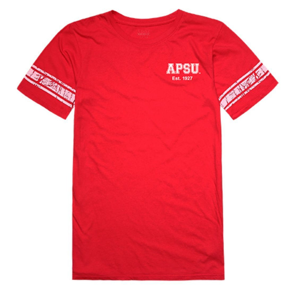 APSU Austin Peay State University Governors Womens Practice Tee T-Shirt Red