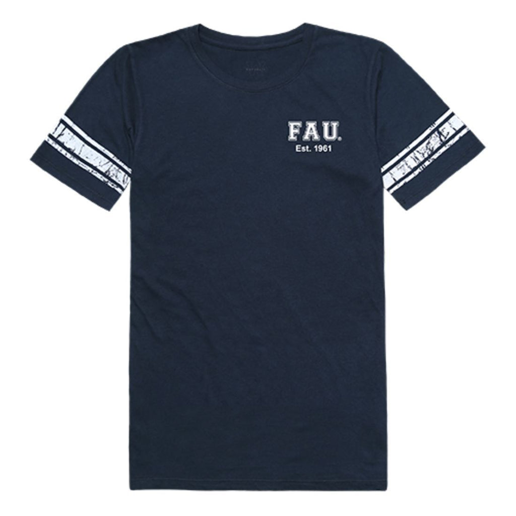 FAU Florida Atlantic University Owls Womens Practice T-Shirt Navy