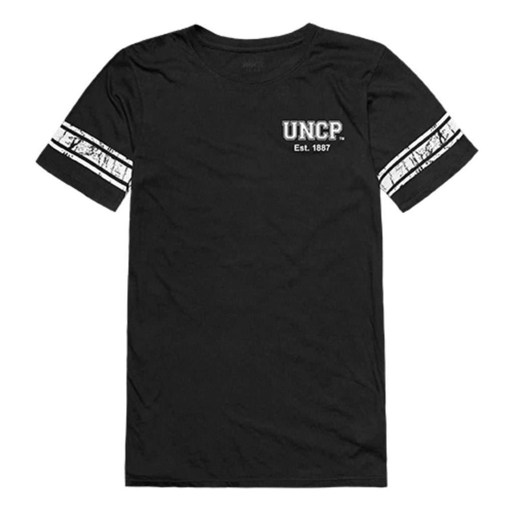 UNCP University of North Carolina at Pembroke Braves Womens Practice T-Shirt Black