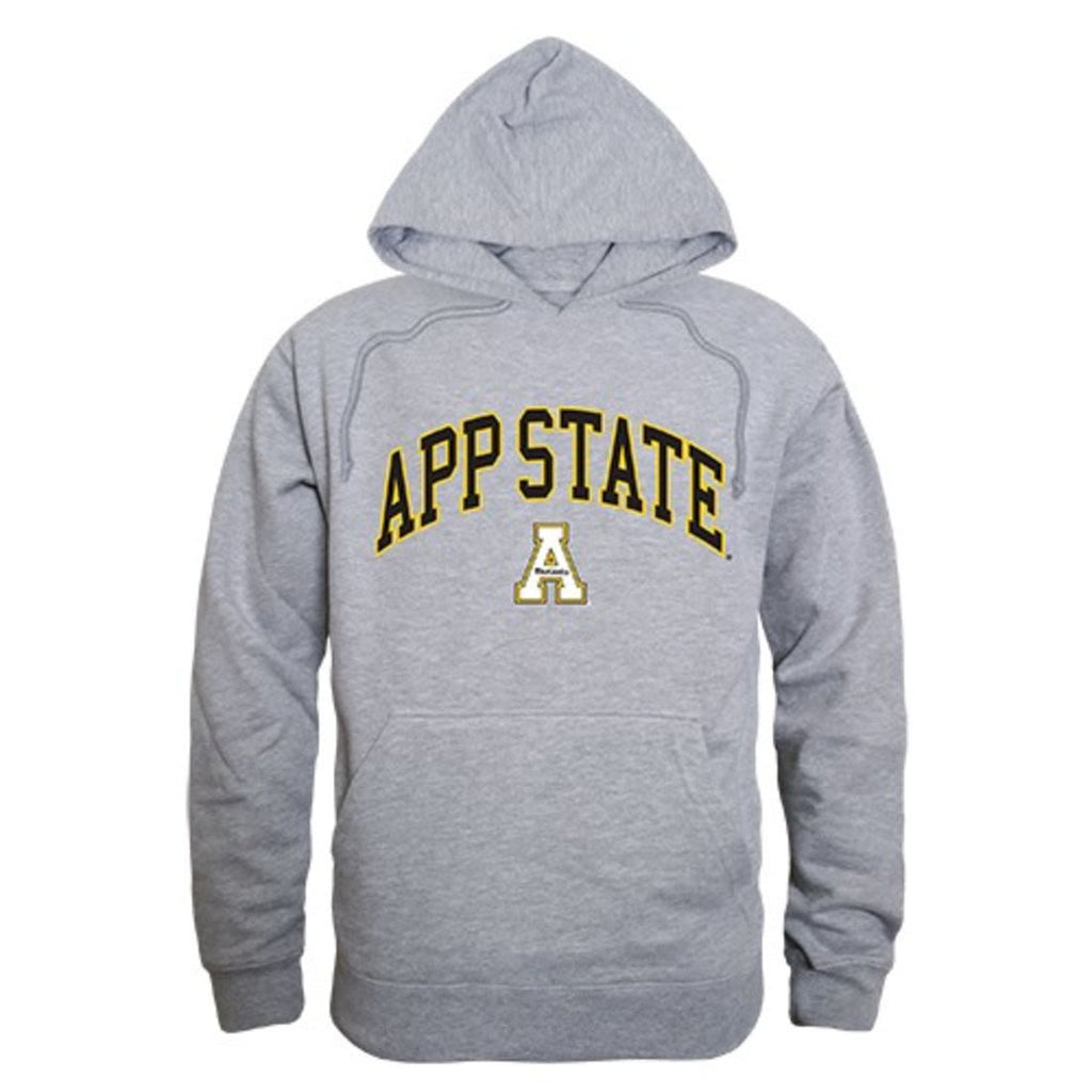 Appalachian State University Mountaineers Campus Hoodie Sweatshirt Heather Grey