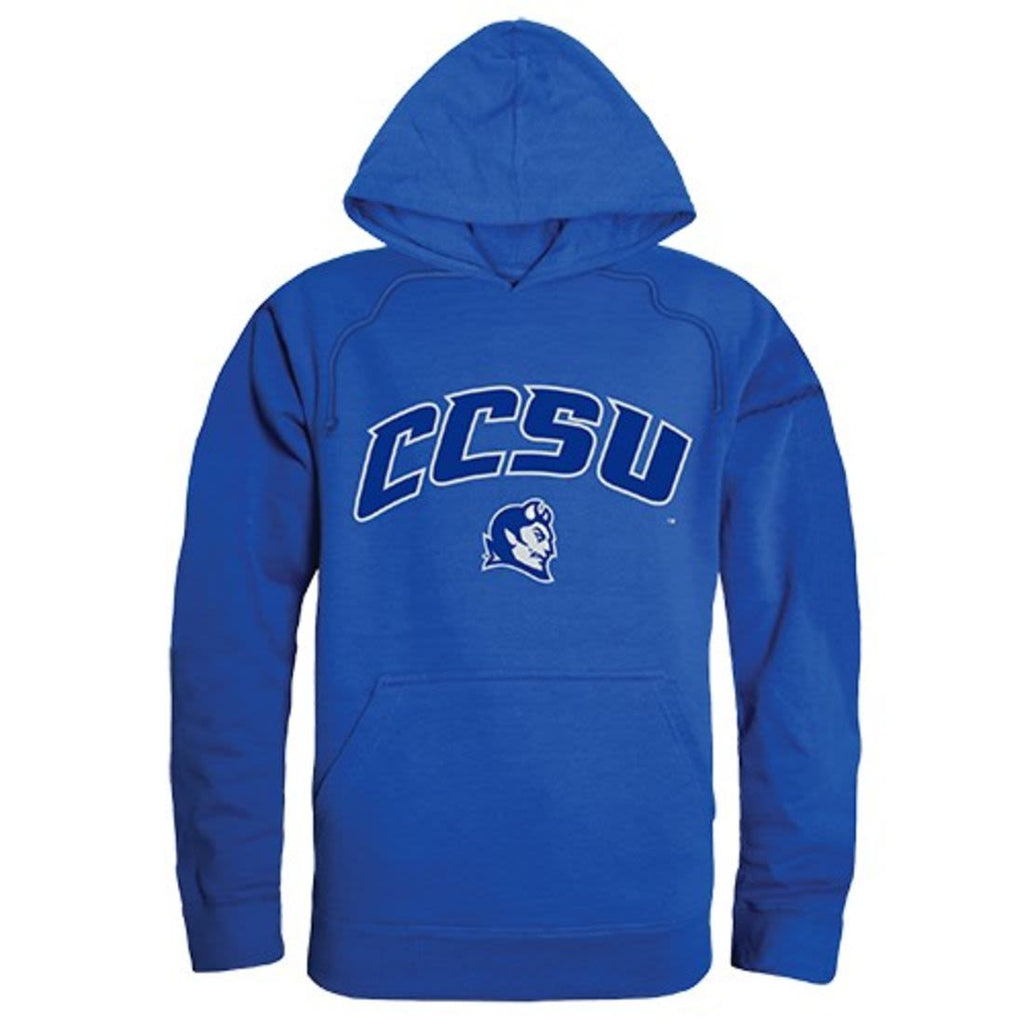 Central Connecticut State University Blue Devils Campus Hoodie Sweatshirt Royal