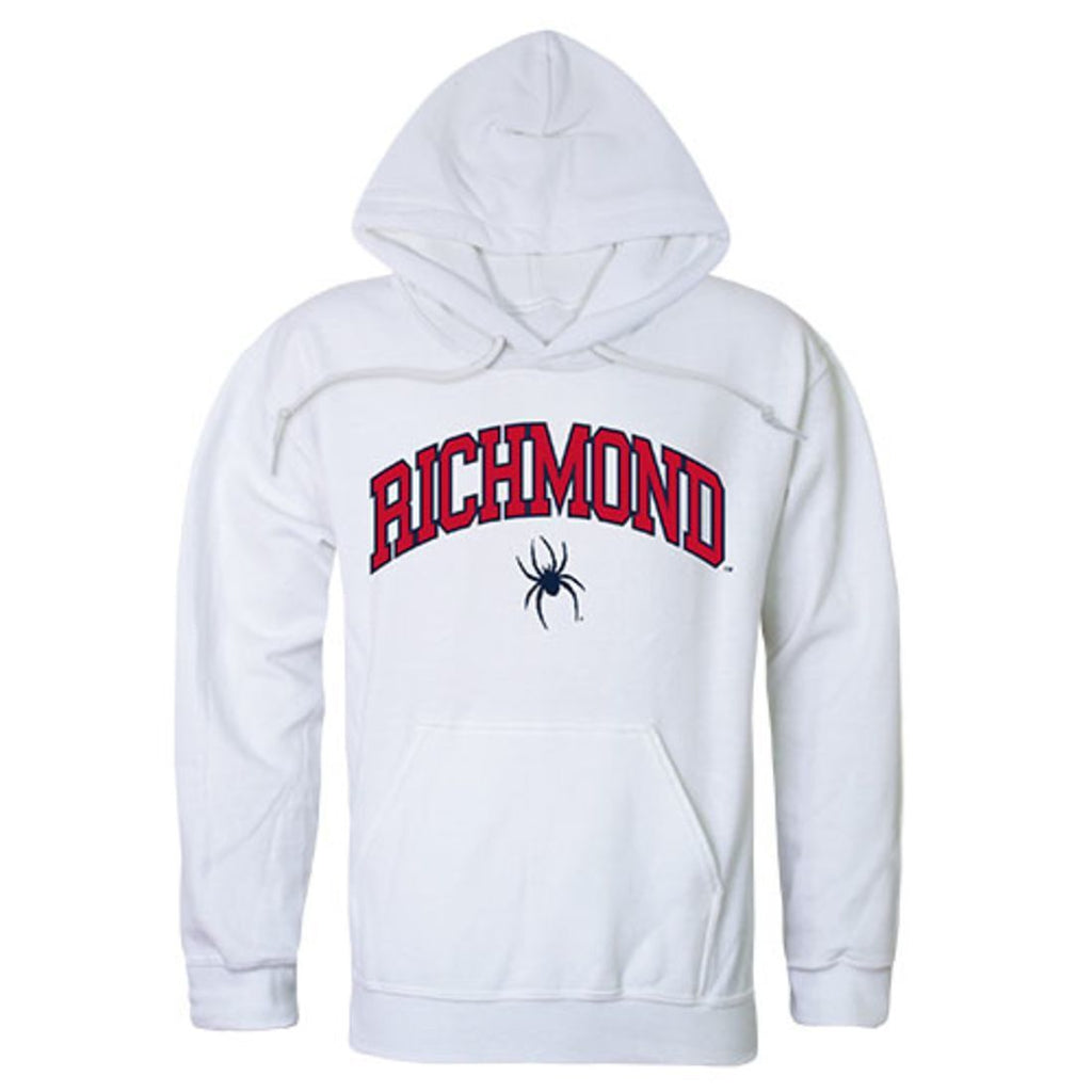 University of Richmond Spiders Campus Hoodie Sweatshirt White