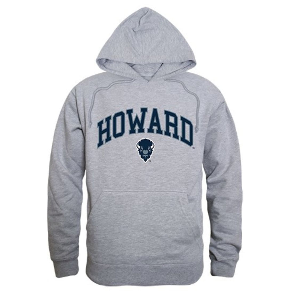 Howard University Bisons Campus Hoodie Sweatshirt Heather Grey