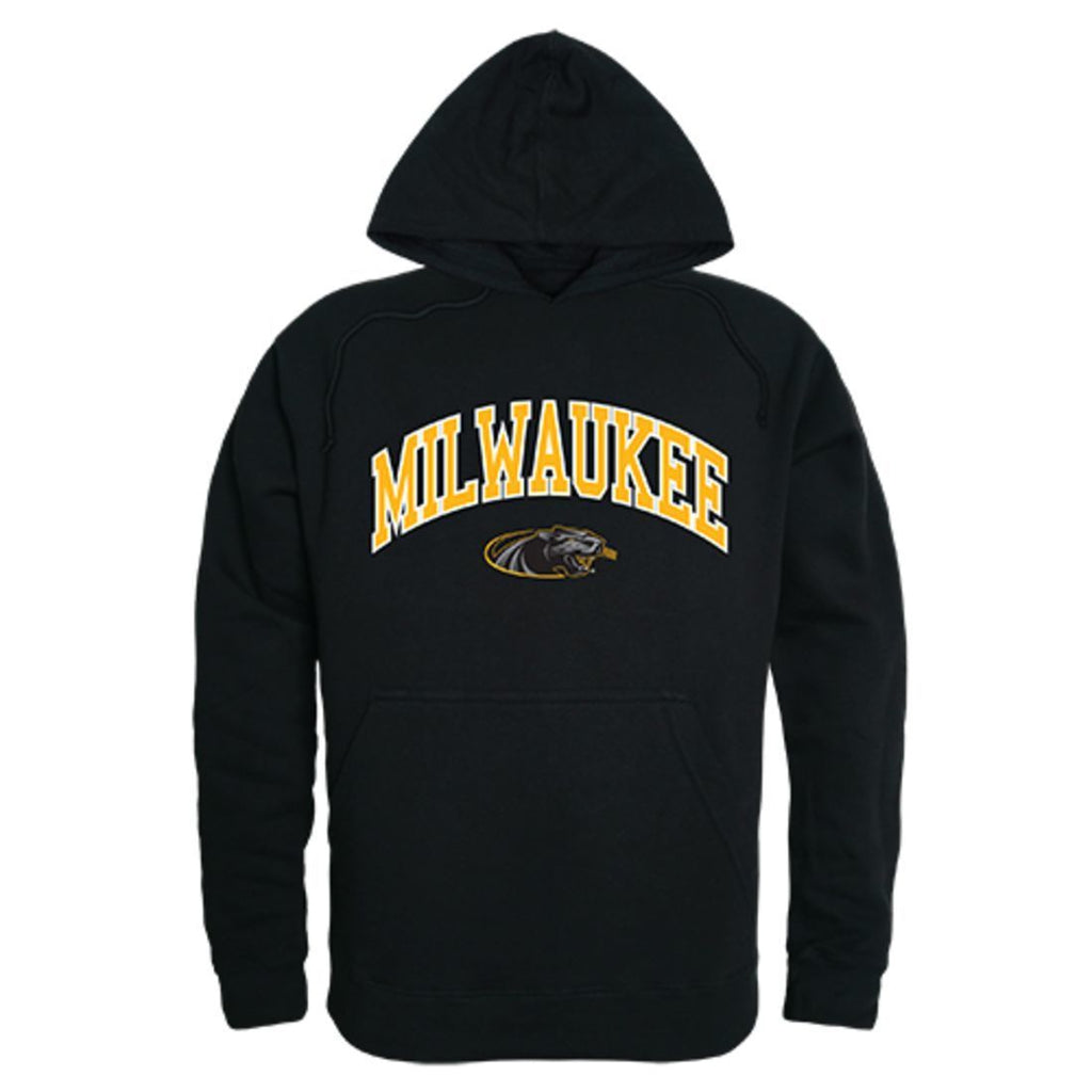 University of Wisconsin Milwaukee Panthers Campus Hoodie Sweatshirt Black