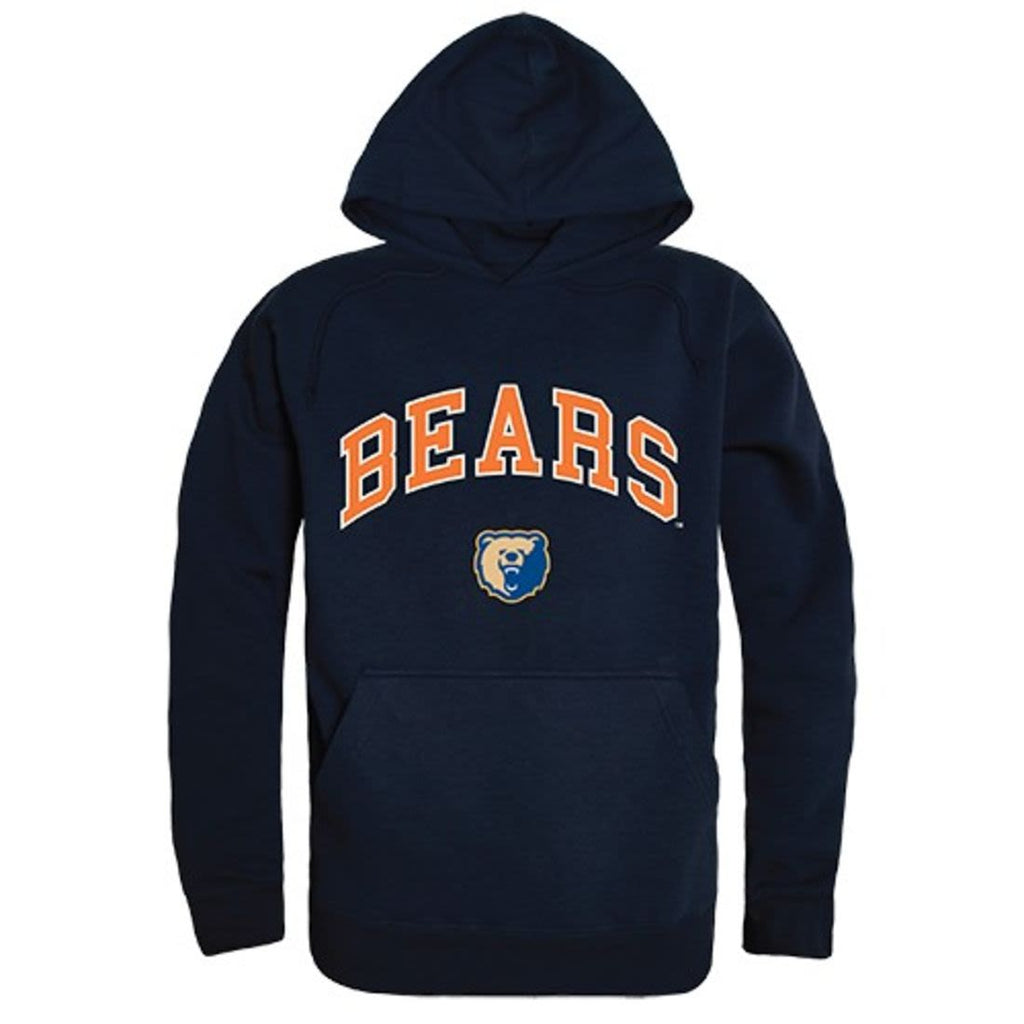 Morgan State University Bears Campus Hoodie Sweatshirt Navy