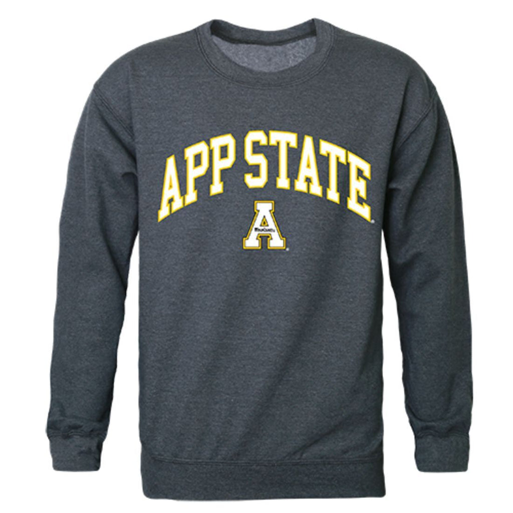 Appalachian App State University Campus Crewneck Pullover Sweatshirt Sweater Heather Charcoal