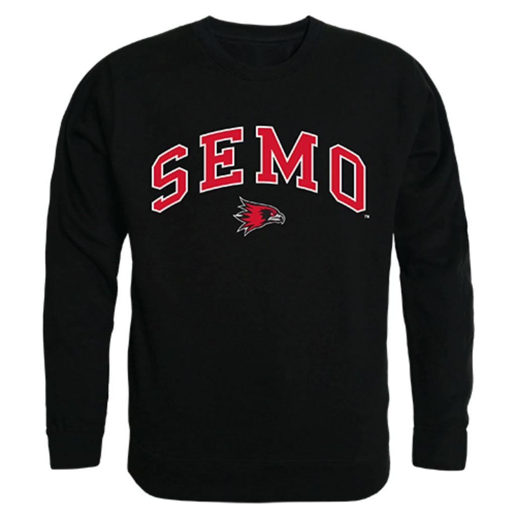 SEMO Southeast Missouri State University Campus Crewneck Pullover Sweatshirt Sweater Black