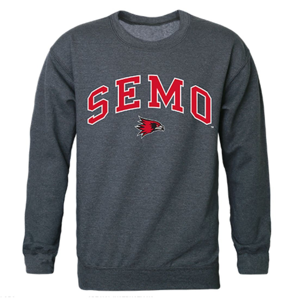 SEMO Southeast Missouri State University Campus Crewneck Pullover Sweatshirt Sweater Heather Charcoal