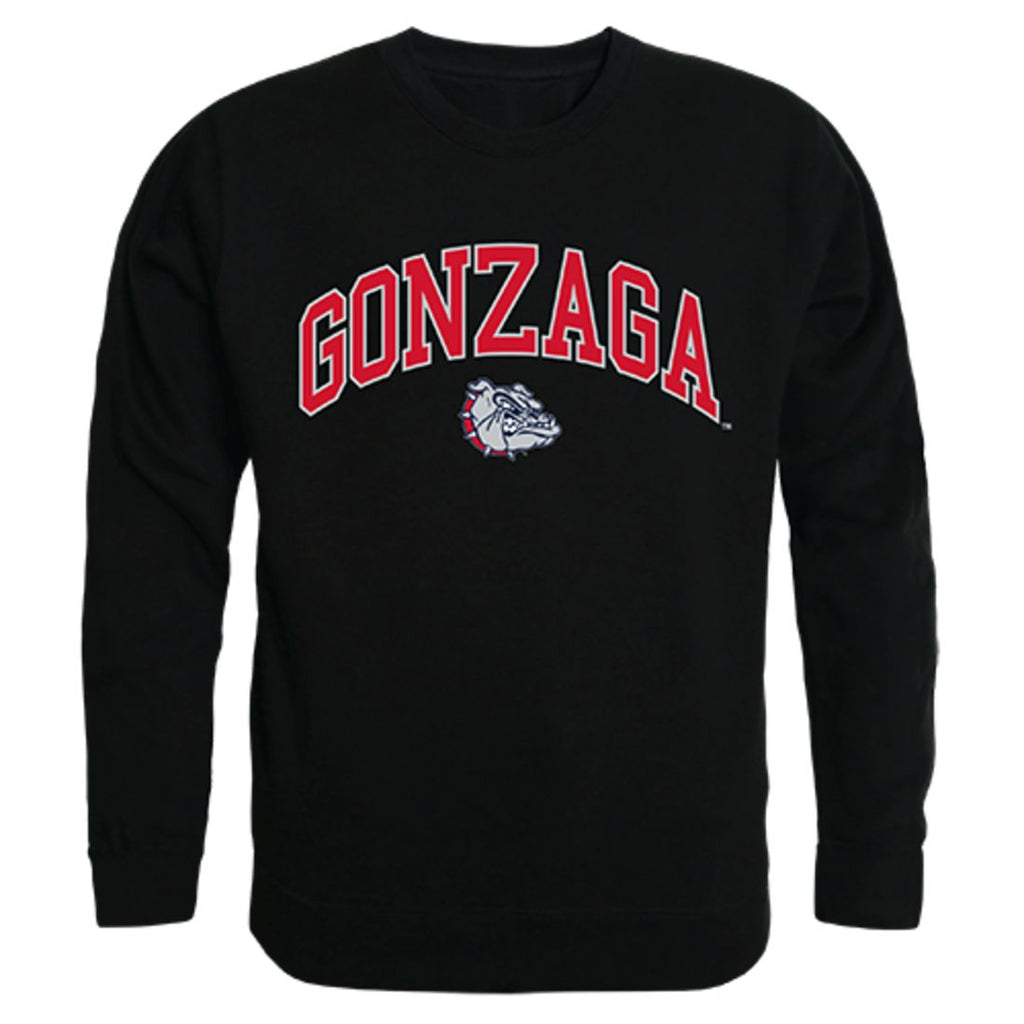 Gonzaga University Campus Crewneck Pullover Sweatshirt Sweater Black